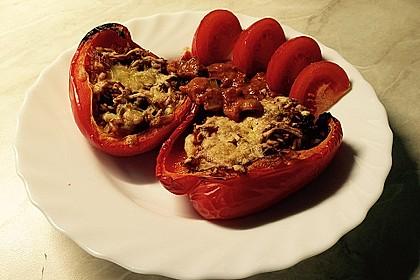 1A gefüllte Paprikaschoten mit Tomatenrahmsoße 19