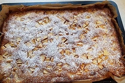 Apfelkuchen vom Blech 15