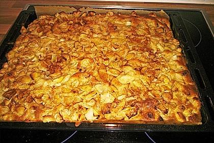 Apfelkuchen vom Blech 9