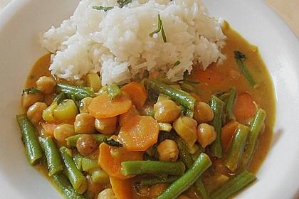Julies Kichererbsen-Bohnen-Curry 2