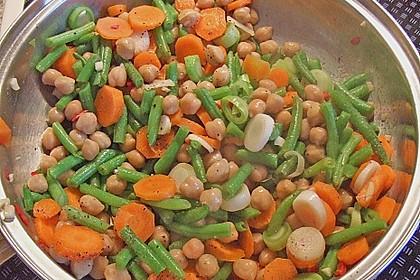 Julies Kichererbsen-Bohnen-Curry 6