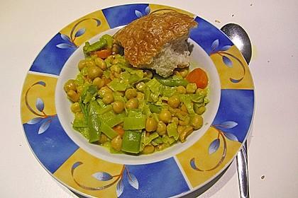 Julies Kichererbsen-Bohnen-Curry 7