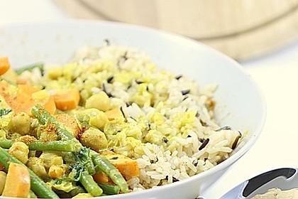 Julies Kichererbsen-Bohnen-Curry