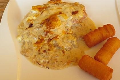Zwiebel - Sahne - Schnitzel 6