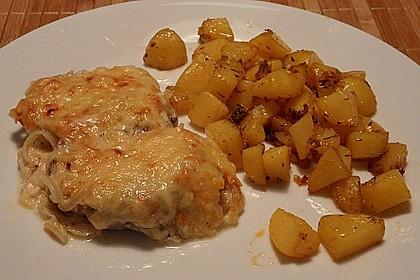 Zwiebel - Sahne - Schnitzel 11