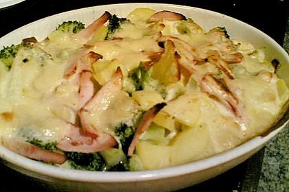 Kartoffel - Brokkoli - Auflauf 5