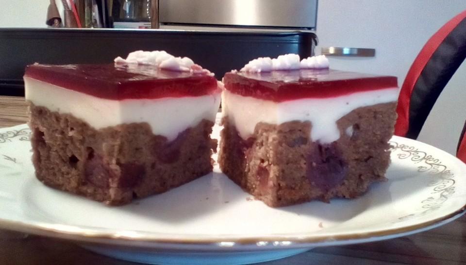 Kirsch Schmand Kuchen Von Ninegranini Chefkoch