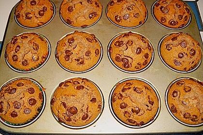 Erdnussbutter - Nutella - Muffins 5