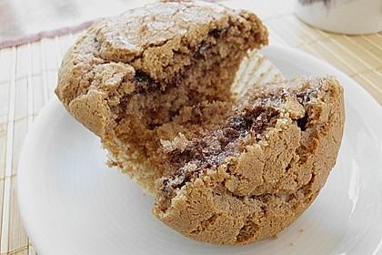 Erdnussbutter - Nutella - Muffins 3