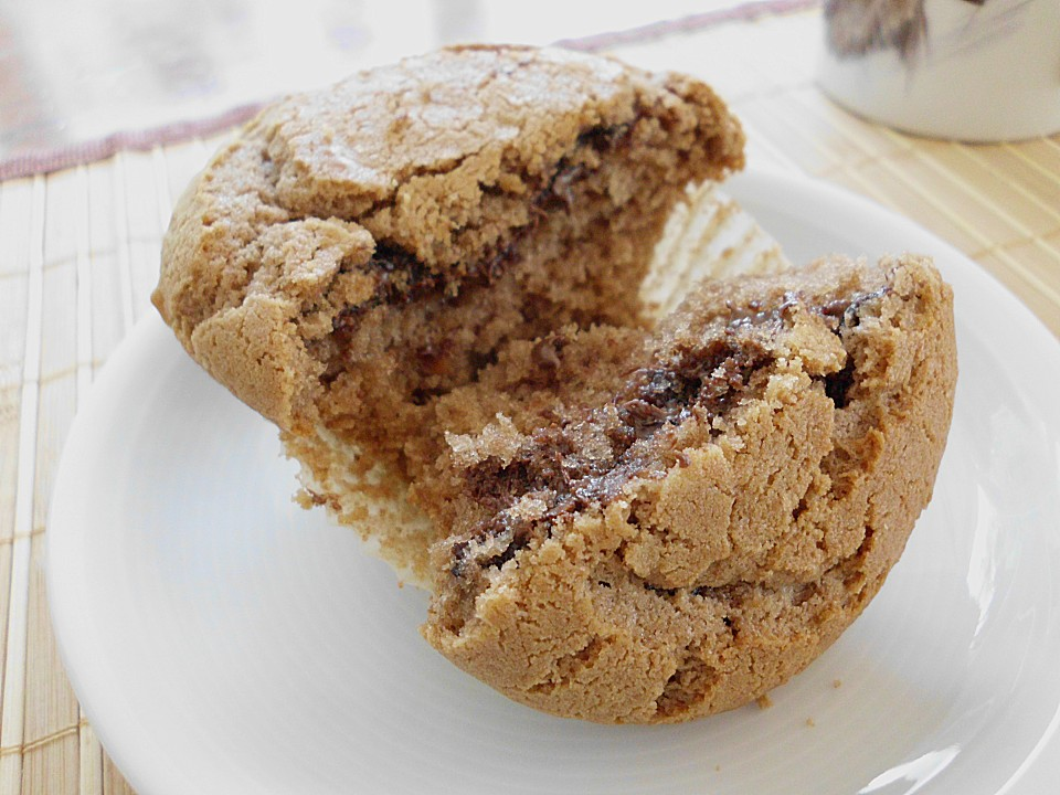 Erdnussbutter Nutella Muffins Von Nitseltrik Chefkoch De