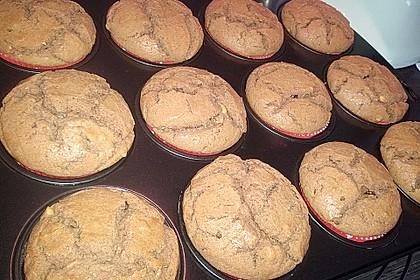 Erdnussbutter - Nutella - Muffins 9