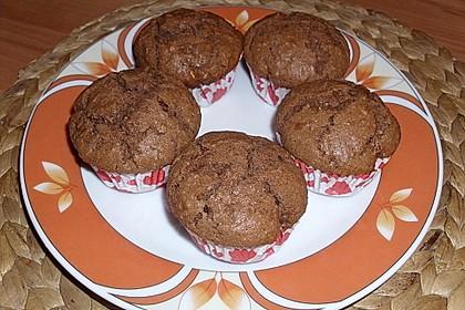 Erdnussbutter - Nutella - Muffins 11