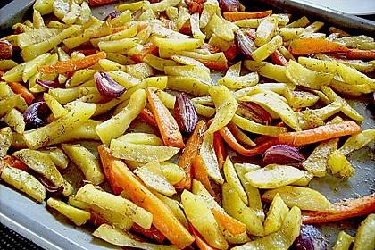 Fettarme Pommes 50