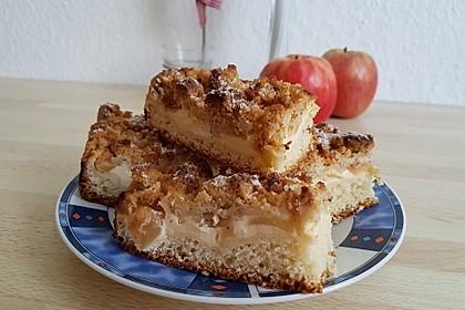 Apfel - Streusel - Kuchen