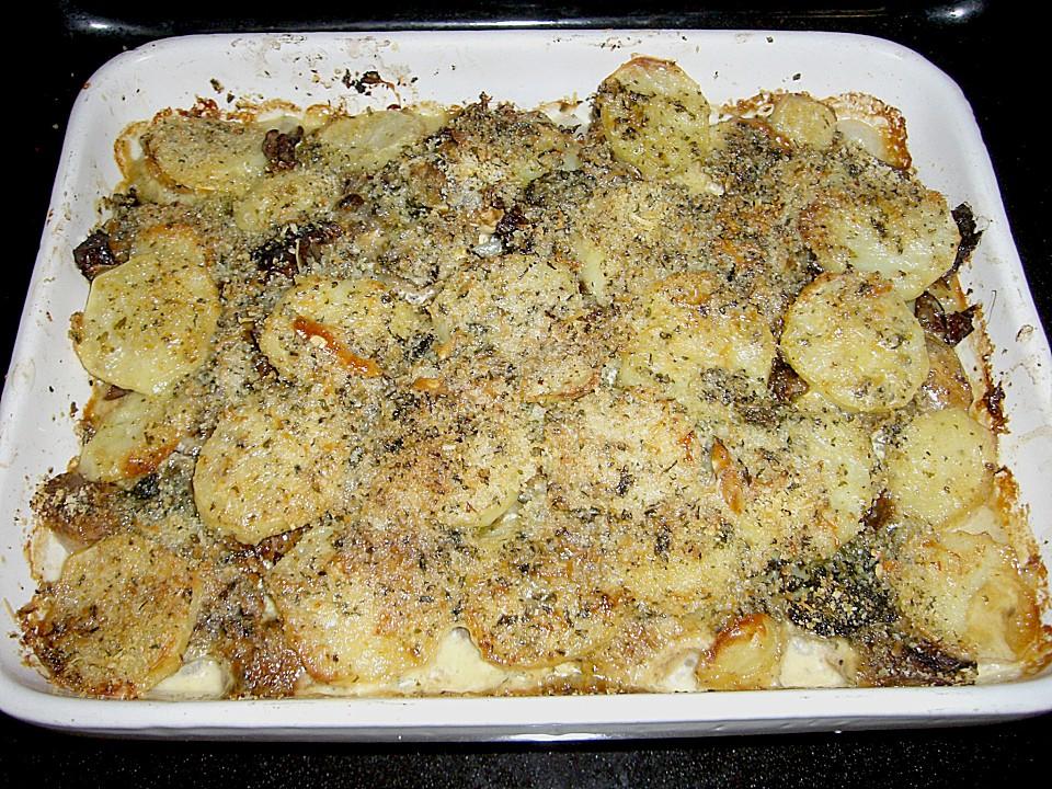 Kartoffel Pilz Auflauf Von Süchtling Chefkoch