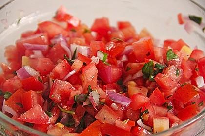 Türkischer Salat mit Minze 1
