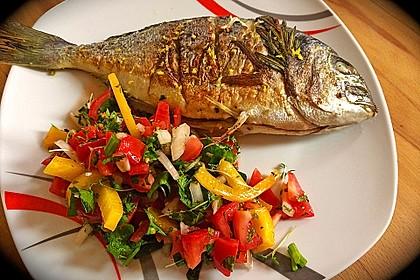 Türkischer Salat mit Minze