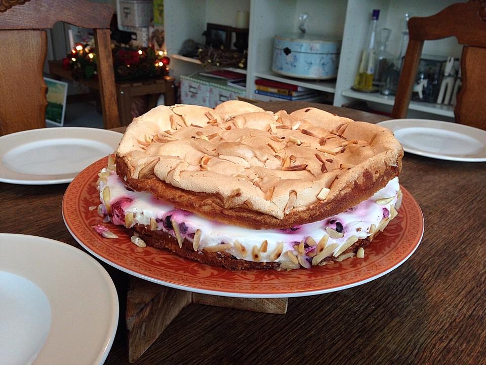 Himbeer Quark Kuchen Mit Baiser Von Monimahoni0905 Chefkoch De