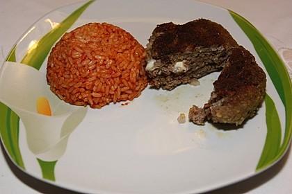 Fleischpflanzerl mit Feta