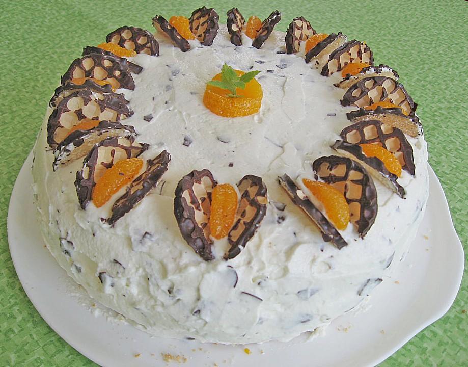 Schokokusstorte Mit Mandarinen Von Eisfrau25 Chefkoch De
