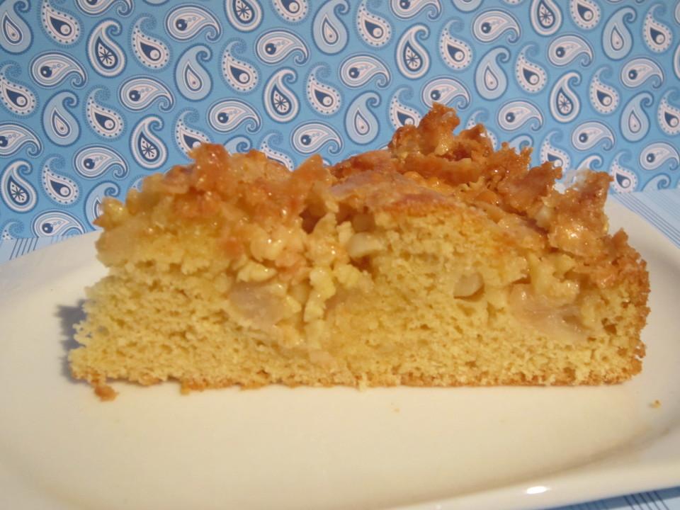 Apfel Mandel Kuchen Mit Eierlikor Von Chaclara Chefkoch De