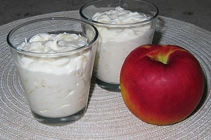 Apfelsaftcreme (Bild)