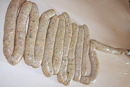 Puten - Grillwurst 1