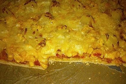 Pizza Hawaii kalorienarm 4