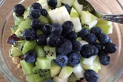 Joghurt - Knuspermüsli mit Obstsalat 7