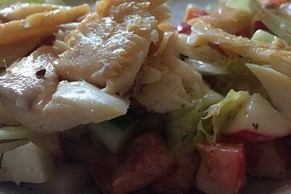 Salat mit Forellenfilet nach Laura (Bild)