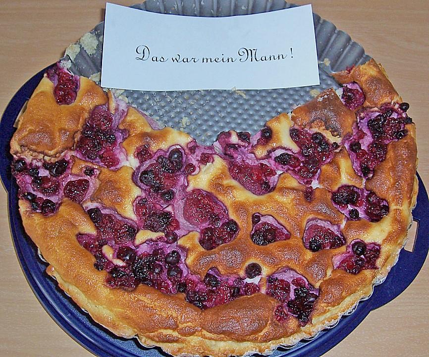 Beeren Quark Kuchen Von Pottixy Chefkoch De