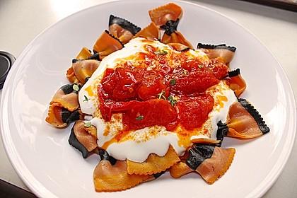 Tortellini mit Joghurtsoße türkisch-italienisch 1