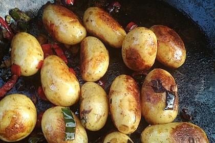 Feurige Kartoffelspieße vom Grill 17