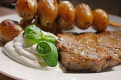 Feurige Kartoffelspieße vom Grill 15