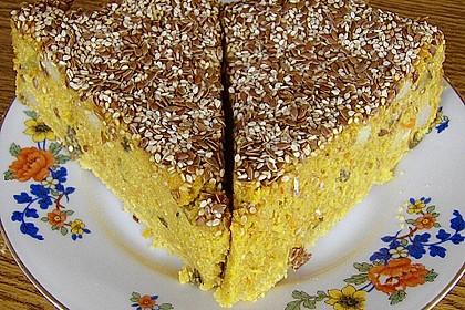 Kokoscreme - Kuchen VII, scharf, süß und sauer