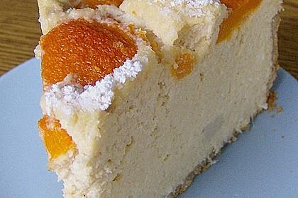 Kokoscreme - Kuchen VI  (Aprikosen)