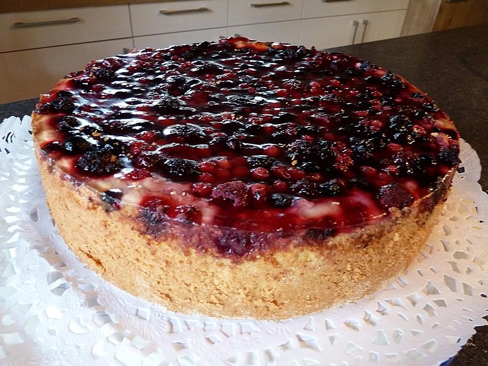 Fruchtiger Beeren Vanille Kuchen Von Jennybee Chefkoch De