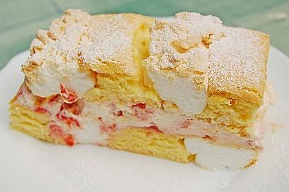 Erdbeer-Kardinalschnitte