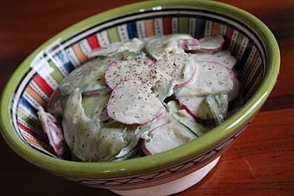 Gurken - Radieschensalat (Bild)