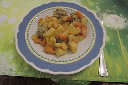 Kartoffel - Möhren - Eintopf mit Hackfleischklößchen 1