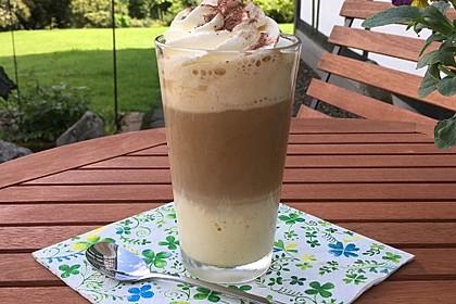 Eiskaffee Latte macchiato (Bild)