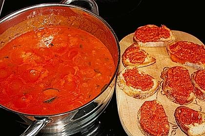 Tomatensuppe mit Hähnchenbrustfilet 2