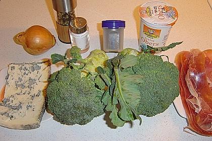 Brokkoli al Gorgonzola 1