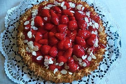 Makronen - Zwetschgenkuchen (Bild)