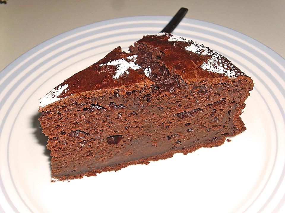 Bananen Schokoladenkuchen Mit Joghurt Von Seelenschein Chefkoch De