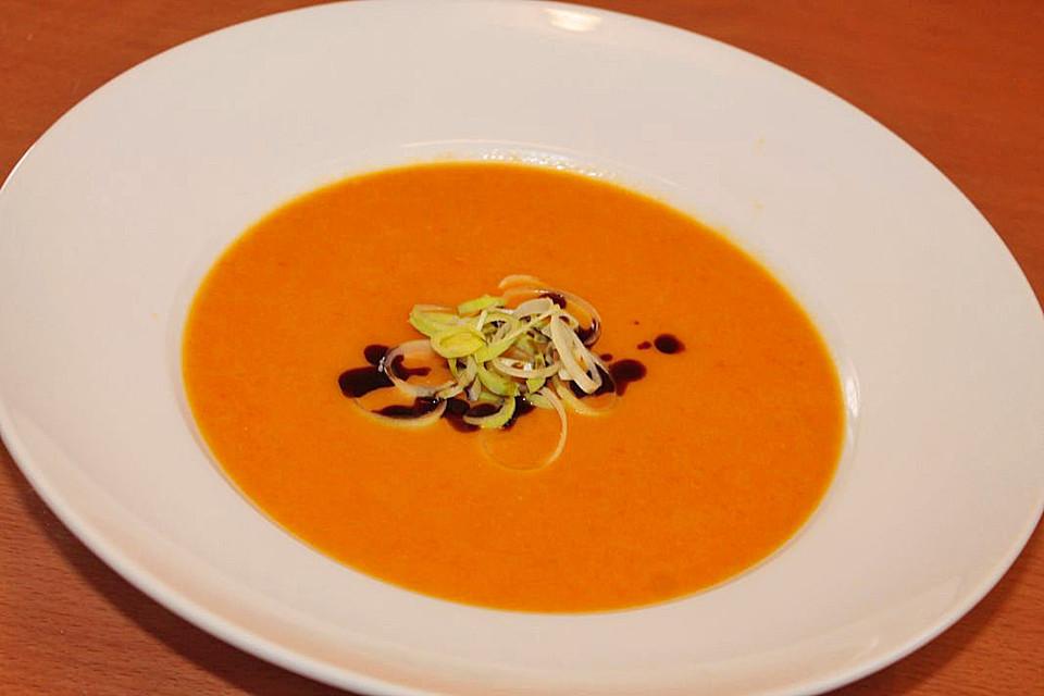 Mango Karotten Suppe Von Cyberlady Chefkoch