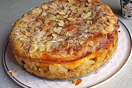 Apfelkuchen mit Quarkfüllung 1