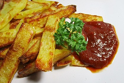 Selbst gemachte Pommes frites 1