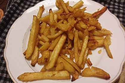 Selbst gemachte Pommes frites 4