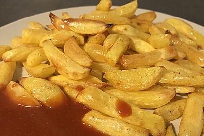 Selbst gemachte Pommes frites (Bild)